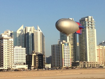 World Air Games - eerste vaart airships